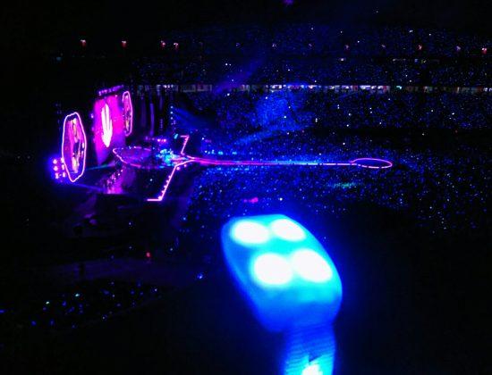 Singapura, Pembuka Coldplay Tour Asia